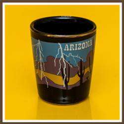 AZ Monsoon Lightning Shotglass