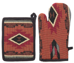 Cibola Pot Holder and Oven Mitt - TEMP OUT-OF-STOCK
