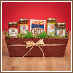 goldwaters salsa and chili mix gift basket senator goldwater