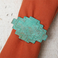 Adobe Patina Napkin Ring