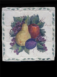 Fruit Stone Tile Mural