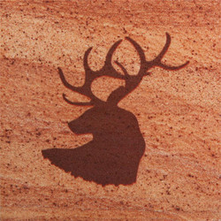 Elk Head Coasters - Set of 4