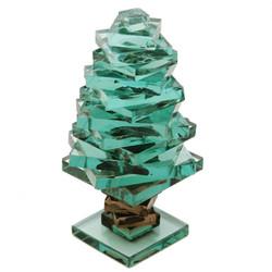 "Glass Pine Tree - 4.5"""