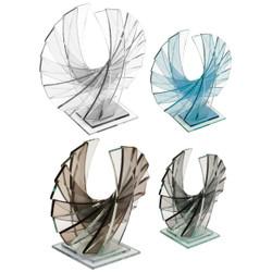 The Rising Phoenix Award- Straight Edge Glass