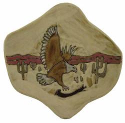 """Mara Dinner Plate 12"""" - Desert Eagle"""