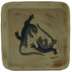 """Mara Salad Plate 8.5"""" - Desert Geckos"""