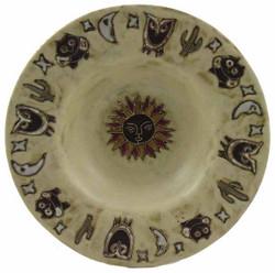 """Mara PASTA Plate 12"""" - Desert Earthtones"""