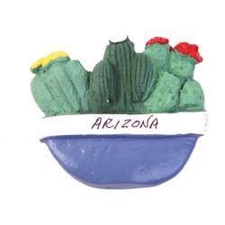 Cactus Pot Magnet