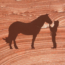 Horse w/ Friend