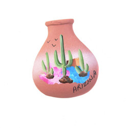 Neck Pot Terra Cota