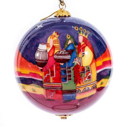 "Three Kings - 4"" Ornament Set of 2"