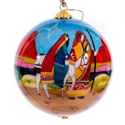 "The Journey - 4"" Ornament Set of 2"