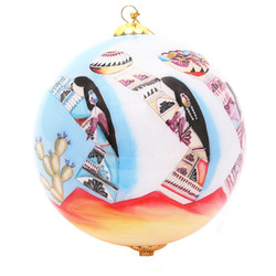 "Harvest Maidens - 4"" Ornament Set of 2"