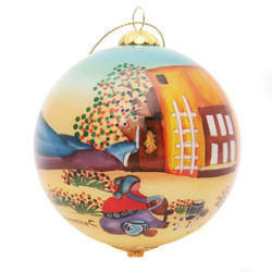 "Potterymaker - 3"" Ornament Set of 2"