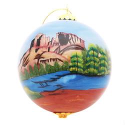 """Sedona Vortex - 4"""" Ornament Set of 2"""