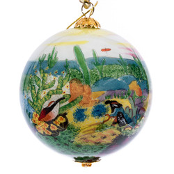 "The Desert - 3"" Ornament Set of 2"