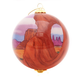 """Monument Valley - 3"""" Ornament Set of 2"""
