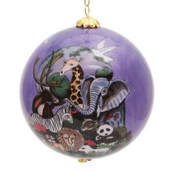 "Zoo Animals - 3"" Ornament Set of 2"