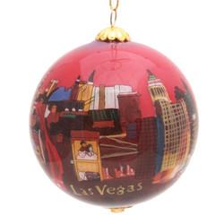 "Las Vegas Strip - 3"" Ornament Set of 2"