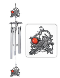 "Cardinal 16"" Wind Chime"