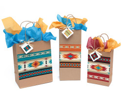 Indian Blanket Gift Bag