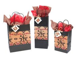 Kokopelli Desert Scene Gift Bag - DISCONTINUED