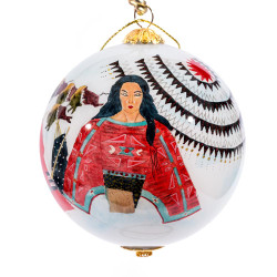 """Sounds of Thunder - 3"""" Ornament Set of 2"""