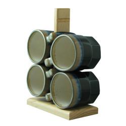 Padilla Traditional, 16oz Mugs - Set of 4