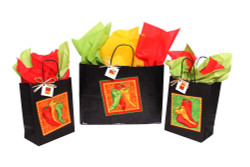 Chili Pepper Gift Bag