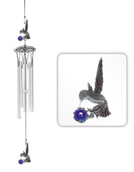 "Hummingbird 24"" Wind Chime"