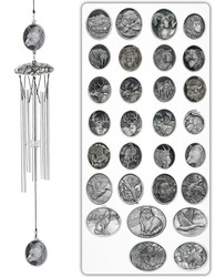 "Wildlife Series 24"" Wind Chime"