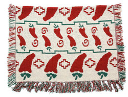 Chili Pepper Bone Area Rug