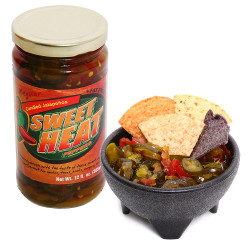 Sweet Heat Peppers - Candied Jalapenos 12oz