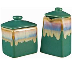 Padilla Mug Sets, Stoneware Pottery Mugs