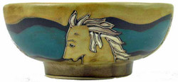 Mara Serving Bowl 24oz - Horses