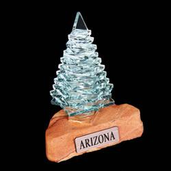 "Pine Tree 4"" w/Sandstone"