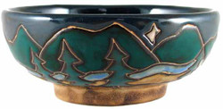 Mara Serving Bowl 24oz - Mountains