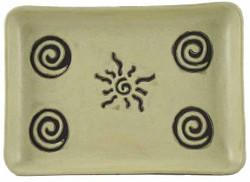 """Mara Rectangular Serving Platter 13"""" - Sunburst"""
