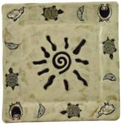 "Mara Square 11"" Plate - Dream Spirit"
