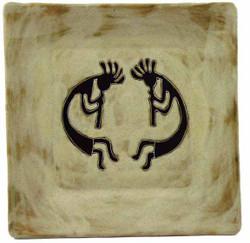"Mara Square 9"" Plate - Dream Spirit"