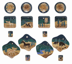 Mara Dinner Set 16 Piece - Animals - FREE SHIPPING