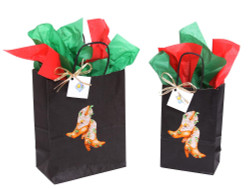 Christmas Boot Gift Bag