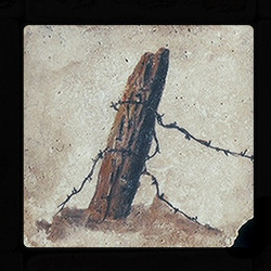 "Old Western #5 4""x4"" Deco Tile"