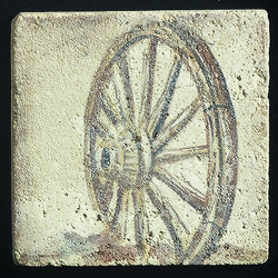 "Old Western #6 4""x4"" Deco Tile"