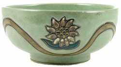 Mara Serving Bowl 72oz - Sunflowers