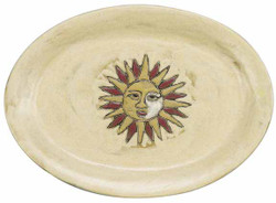 "Mara Oval Serving Platter 13"" - Sun"
