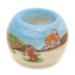"Desert Wildlife - 3"" Votive Set of 2"