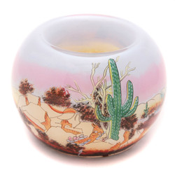 "Desert Ridge - 3"" Votive Set of 2"