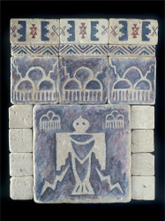 Thunderbird Stone Tile Display