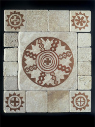 Apache Stone Tile Display